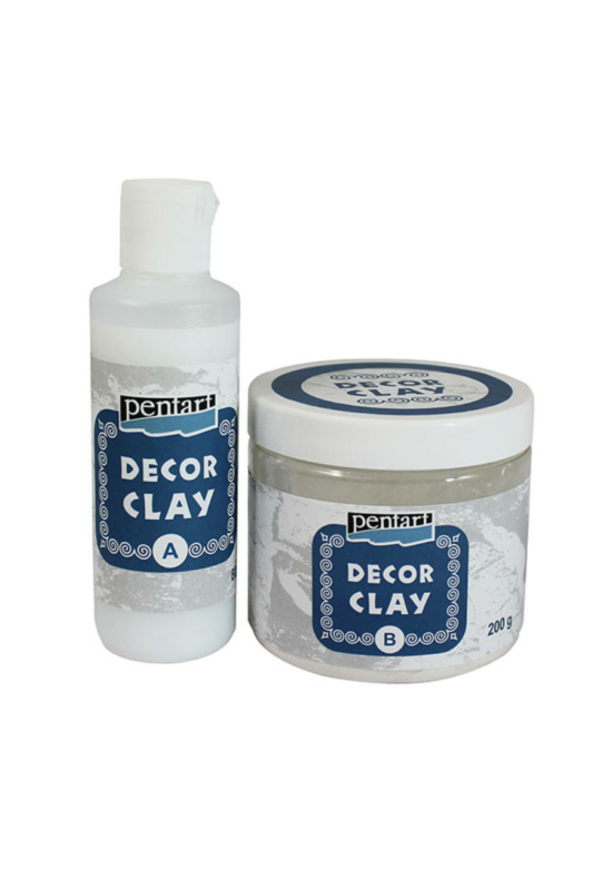 Decor clay szett 200+80g