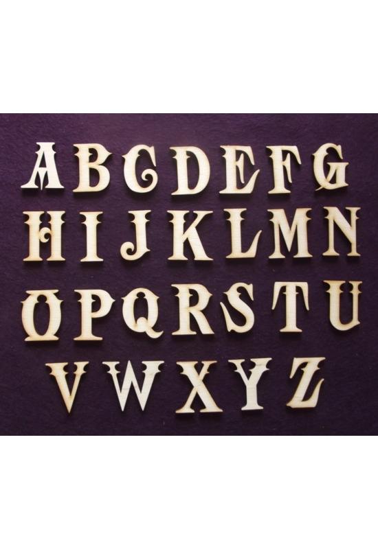 ABC betűi  45mm magasak
