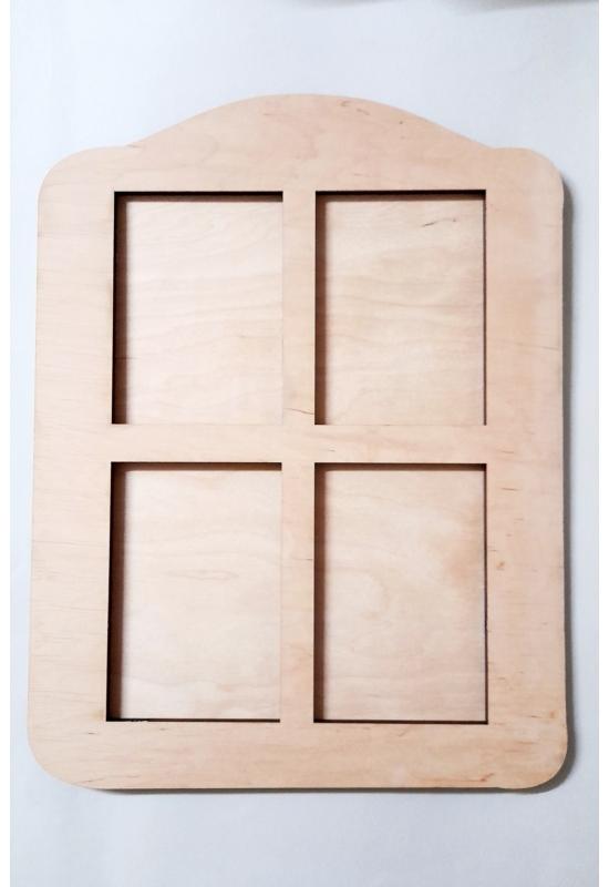 Ablak ablak forma +teli alap több méretben