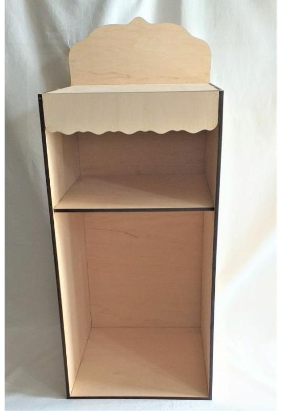 Polc - éjjeli szekrény 280x300x550+120 mm
