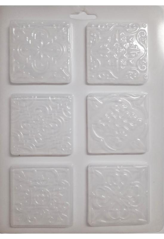 Lágy PVC Öntőforma-A4 méret-csempe minta