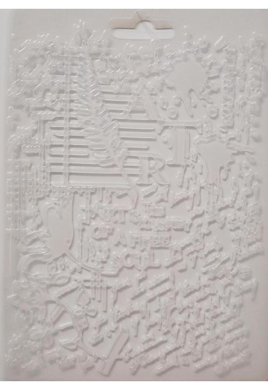 Lágy PVC Öntőforma-A5 méret-Művészet