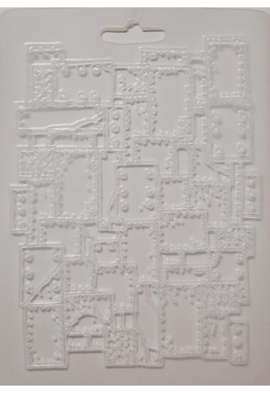Lágy PVC Öntőforma-A5 méret-Plaquette