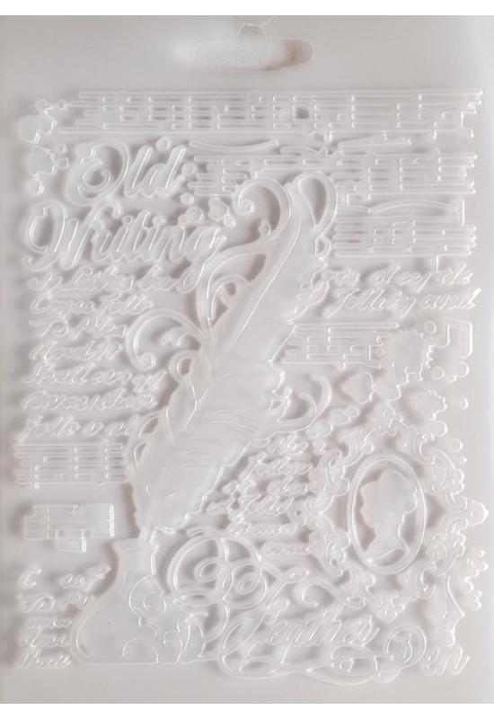 Lágy PVC Öntőforma-A5 méret-Toll