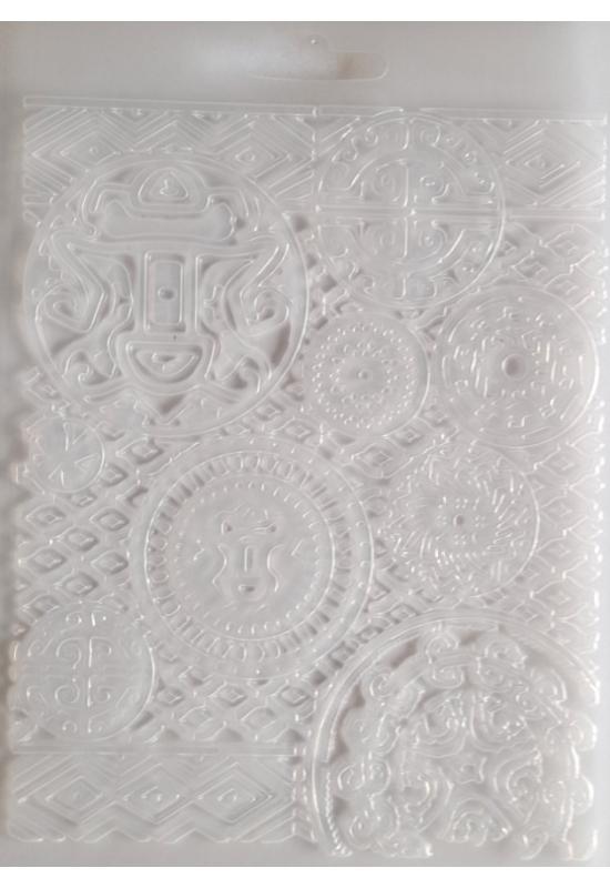 Lágy PVC Öntőforma-A5 méret-Amazónia textúra