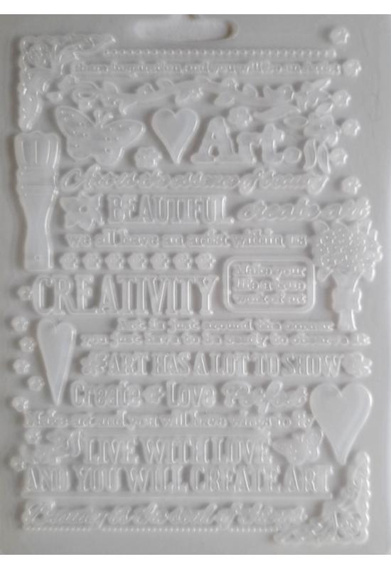 Lágy PVC Öntőforma-A5 méret-Art