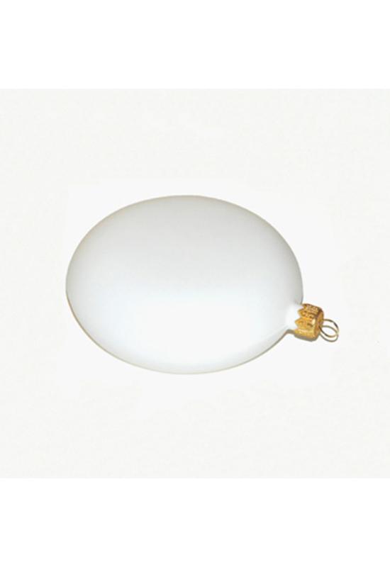 Medalion fehér műanyag 12 cm
