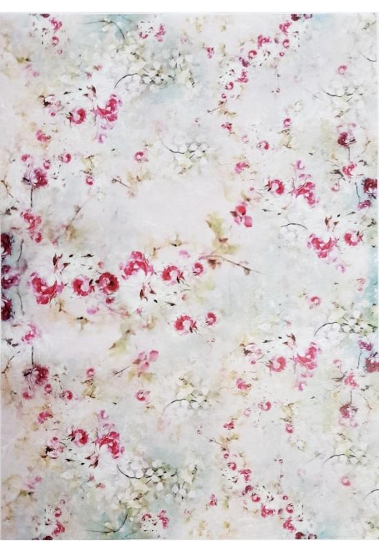 Rizspapír-virágok