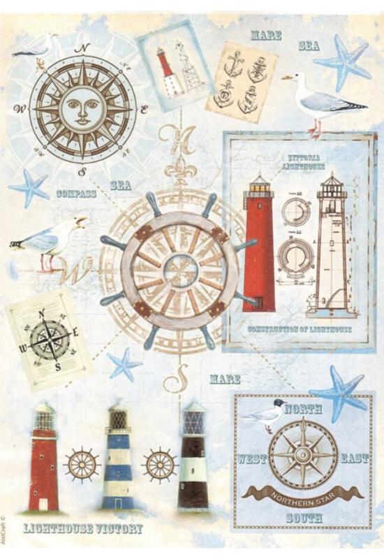 Rizspapír-világító torony