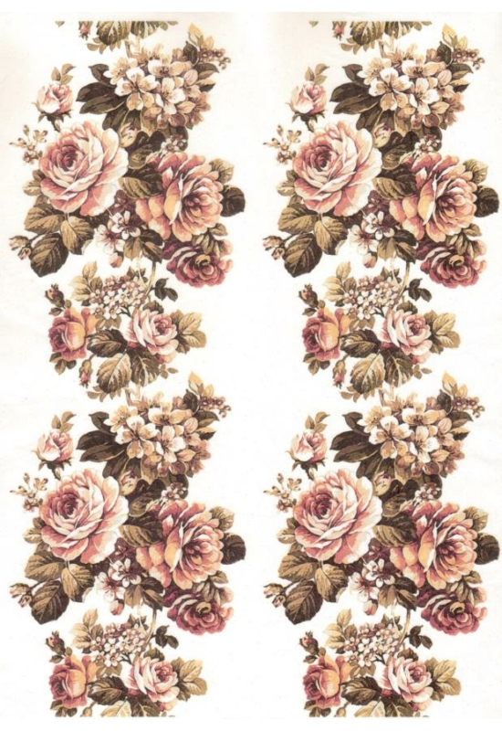 Rizspapír-Virágsor