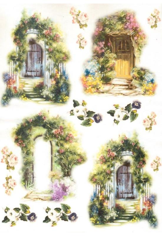 Rizspapír-ajtók