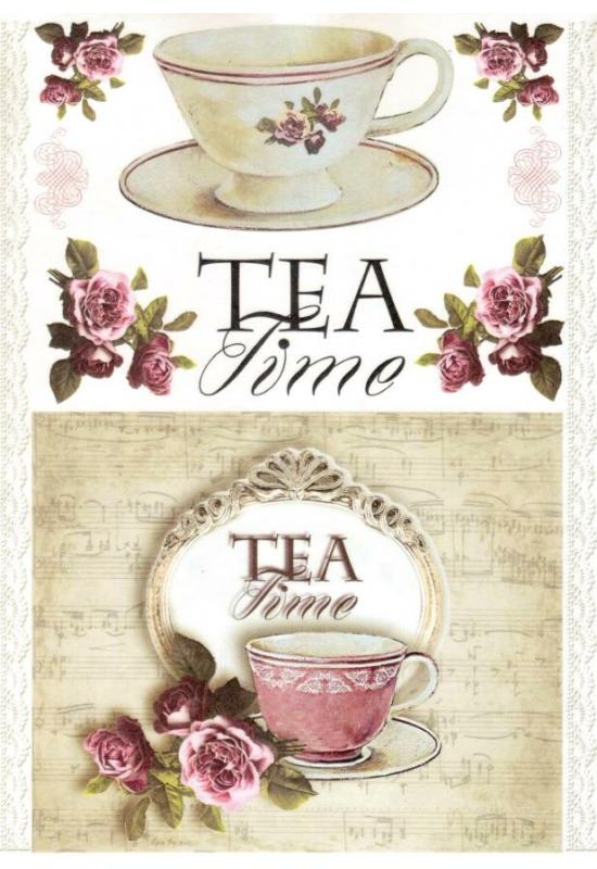 Rizspapír-tea