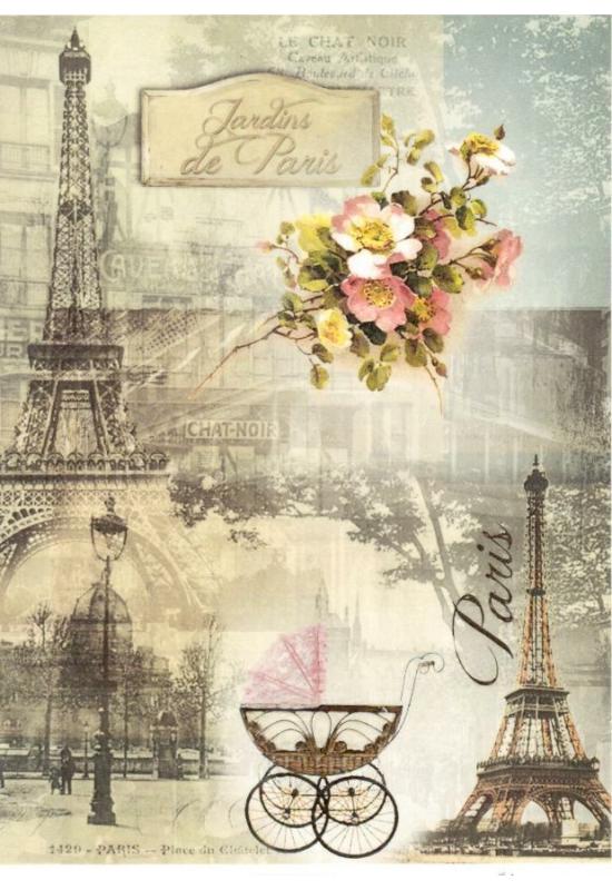 Rizspapír-Párizs
