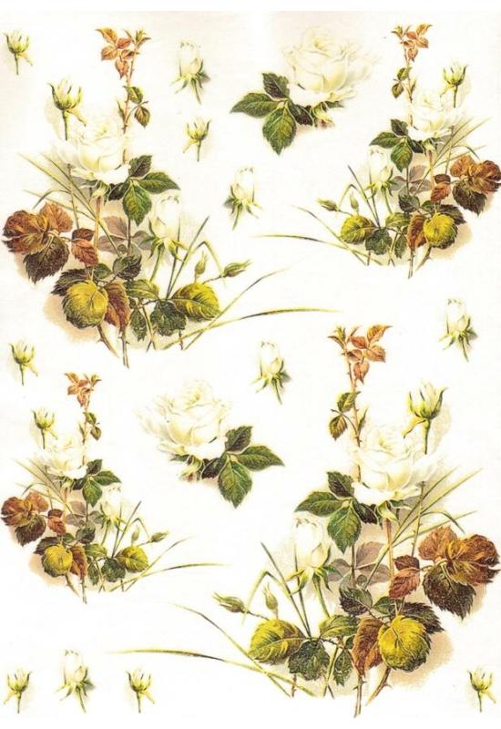 Rizspapír-őszi levelek