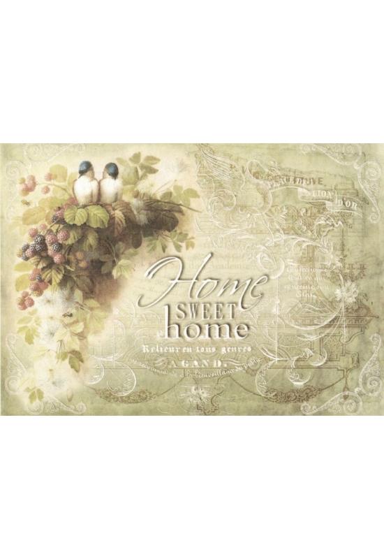 Rizspapír-madarak, Home Sweet Home