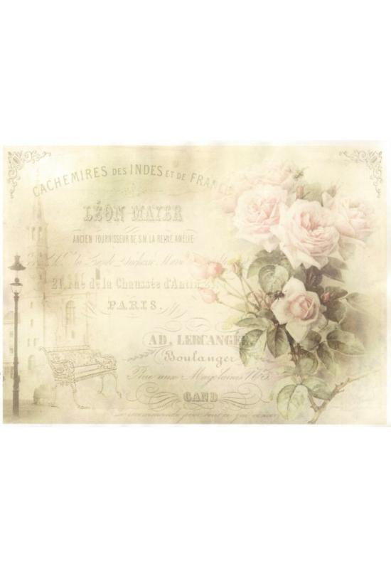 Rizspapír-rózsa