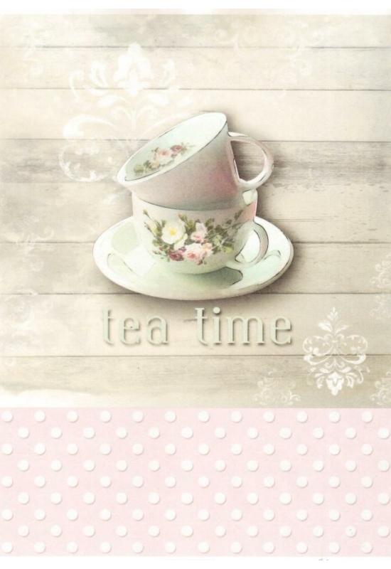 Rizspapír-tea time