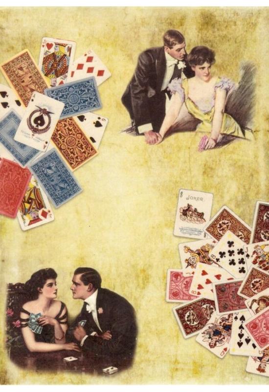 Rizspapír-Kártyázó párok