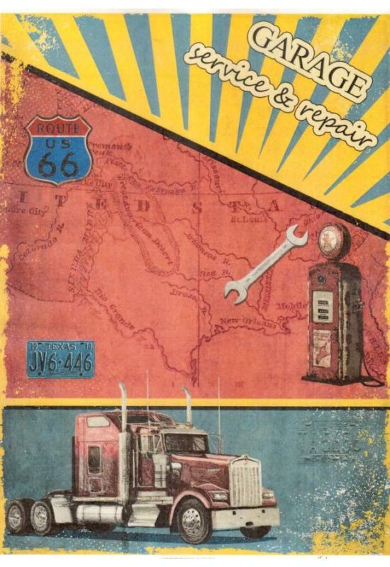 Rizspapír-Route66