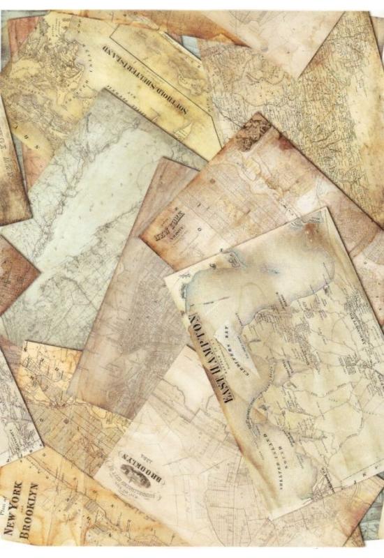 Rizspapír-térképek