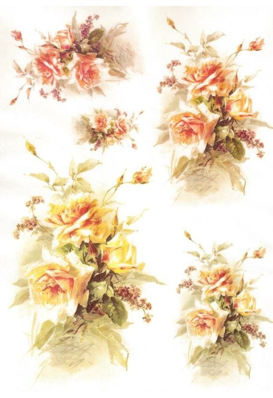 Rizspapír-rózsák