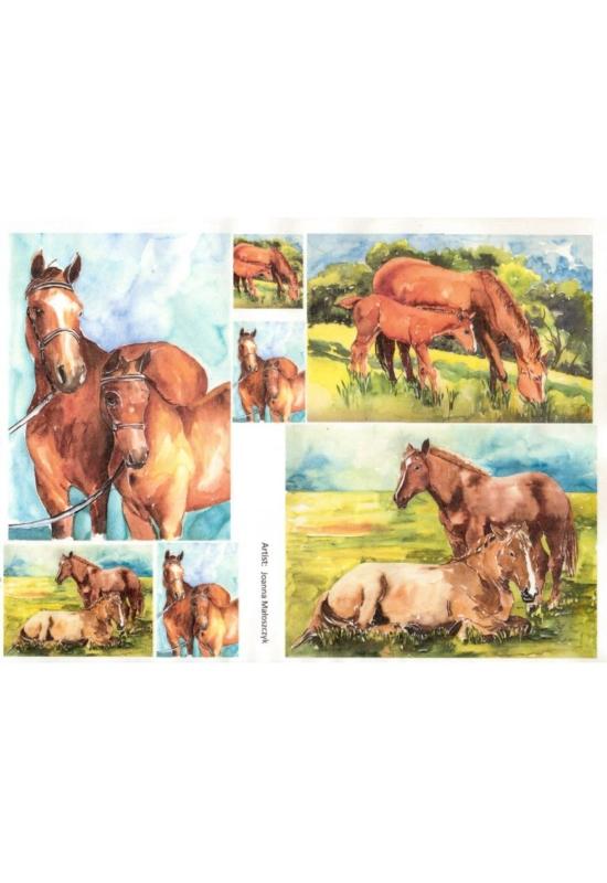 Rizspapír-lovak