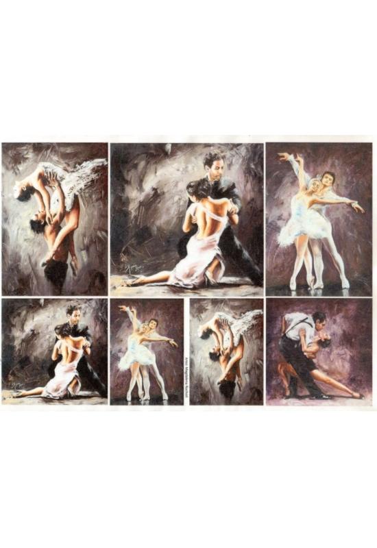 Rizspapír-Táncosok