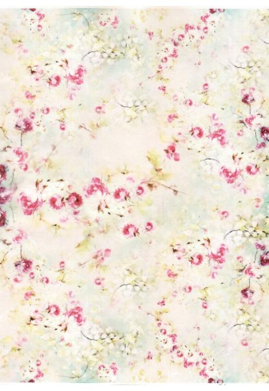 Rizspapír-virág