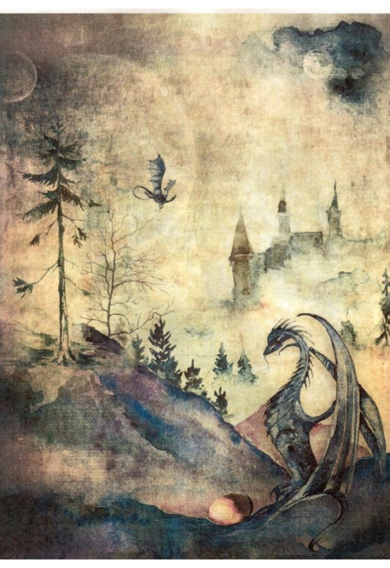 Rizspapír-sárkány
