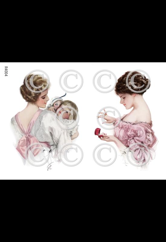Rizspapír-nők