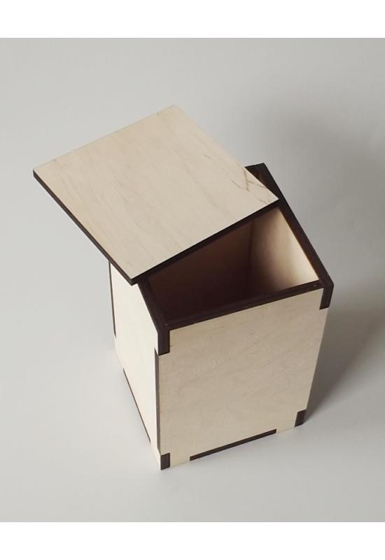 Tároló dobozok sima tetővel több méretben